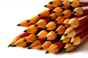 Image of stack of pencils