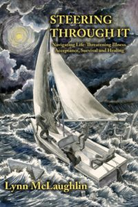 Image of front cover for book: Steering Through It by Lynn Mclaughinn