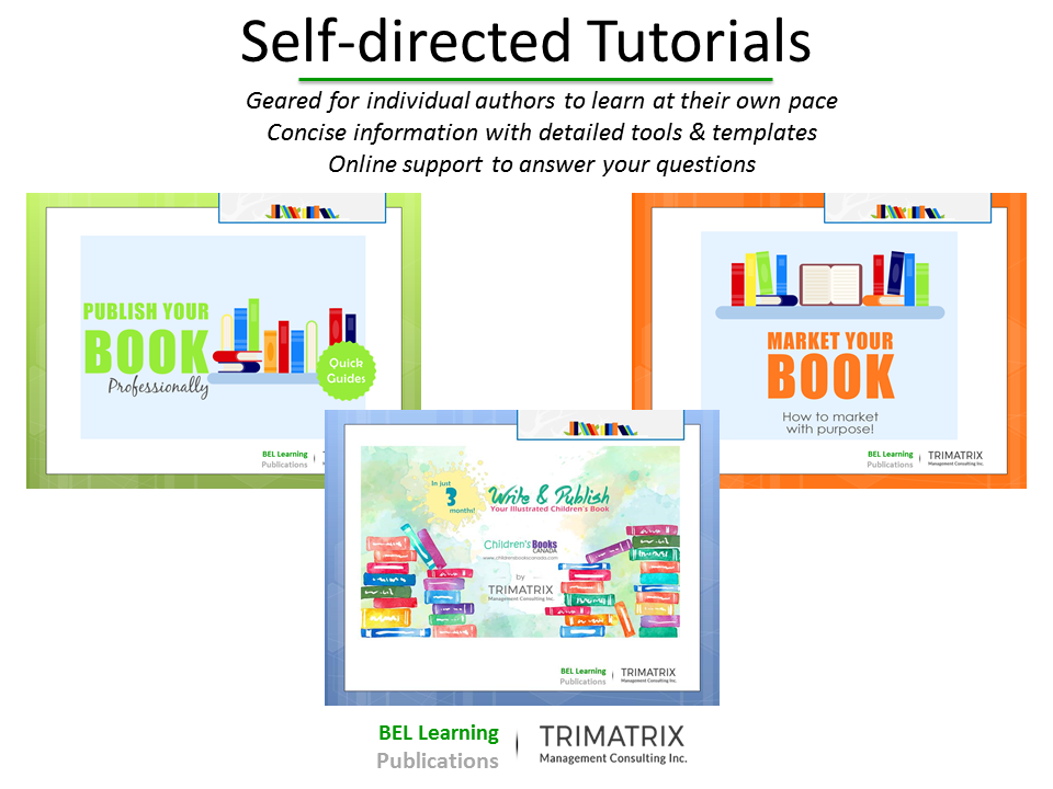 image of workshop title slides for: self-directed tutorials