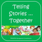 Telling Stories Together - get kids writing